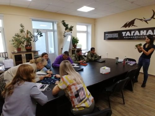 ECOfriends провел лекцию о раздельном сборе ТКО для сотрудников Национального парка «Таганай»