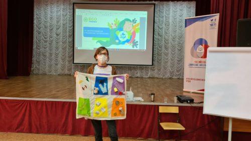 Проект ECOfriends провел экопросветительские мероприятия для смены актива Российского движения школьников Саратовской области