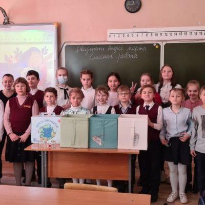 ECOfriends приобщает саратовских школьников к раздельному сбору отходов